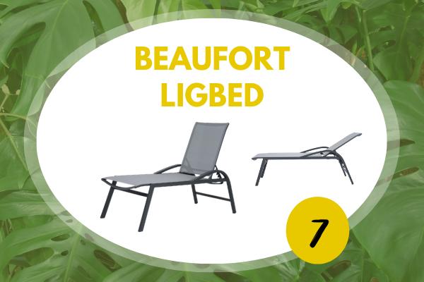Robbies Tuinmeubelen Top 10 2021 - Beaufort ligbed