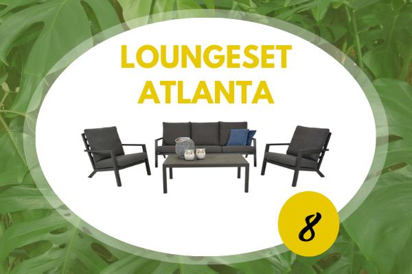 Robbies Tuinmeubelen Top 10 2021 - Loungeset Atlanta