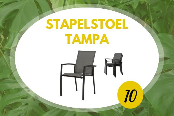 Robbies Tuinmeubelen Top 10 2021 - Stapelstoel Tampa