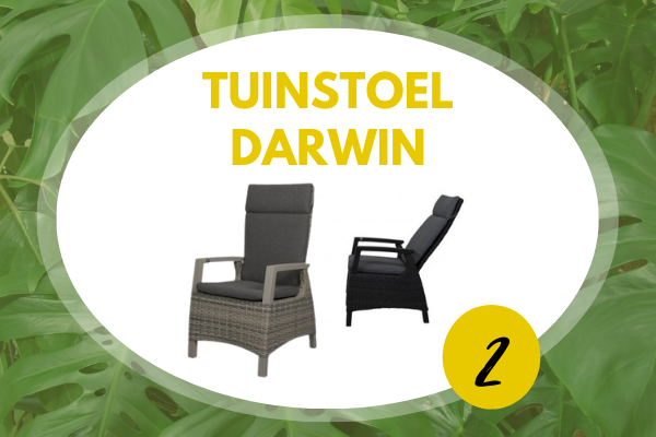 Robbies Tuinmeubelen Top 10 2021 - Verstelbare tuinstoel Darwin