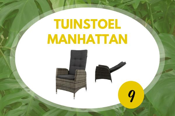 Robbies Tuinmeubelen Top 10 2021 - Tuinstoel Manhattan