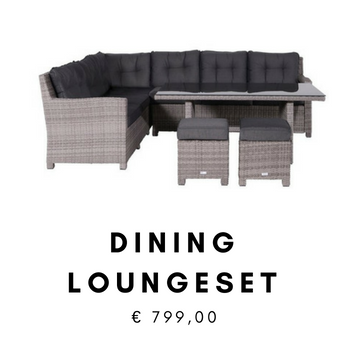 Goedkope Dining Wicker Loungeset
