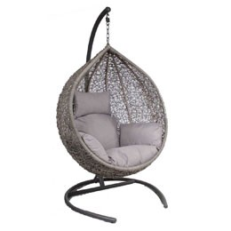 Crazy hangstoel naturel