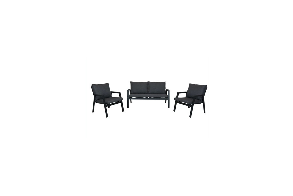Ancho Lounge-set mat royal grey