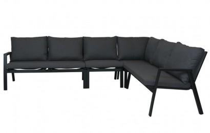 Ancho lounge hoek mat royal grey
