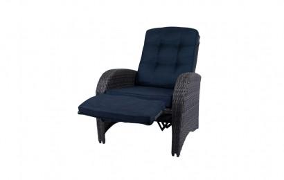 Casablanca loungestoel met voetenbank