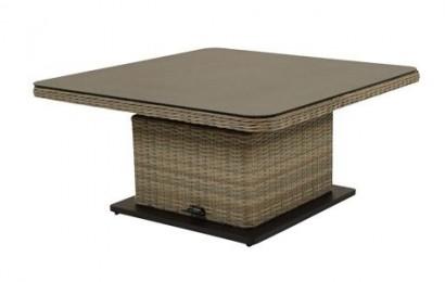 Sandigo tuintafel 115x115 cm verstelbaar