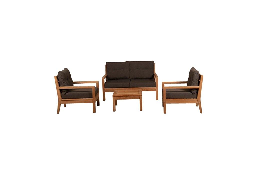 Sabang 2-zits/2 x fauteuil/salontafel